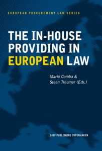 The In-House Providing in European Law-cover